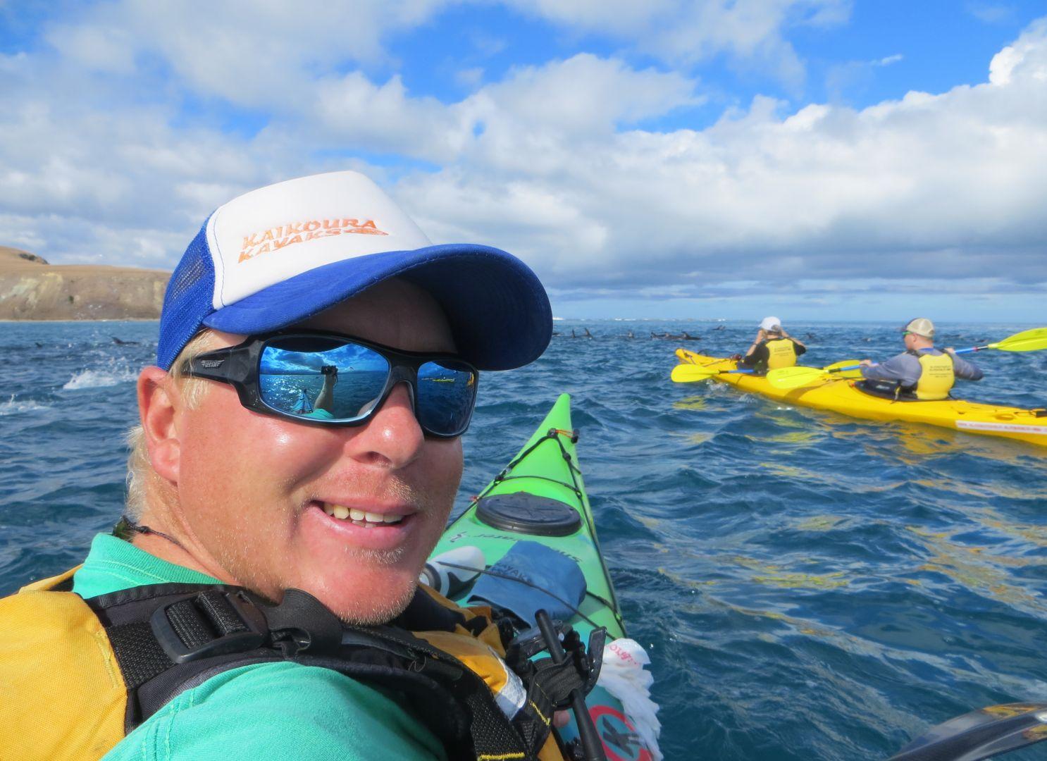 Guiding at Kaikoura Kayaks