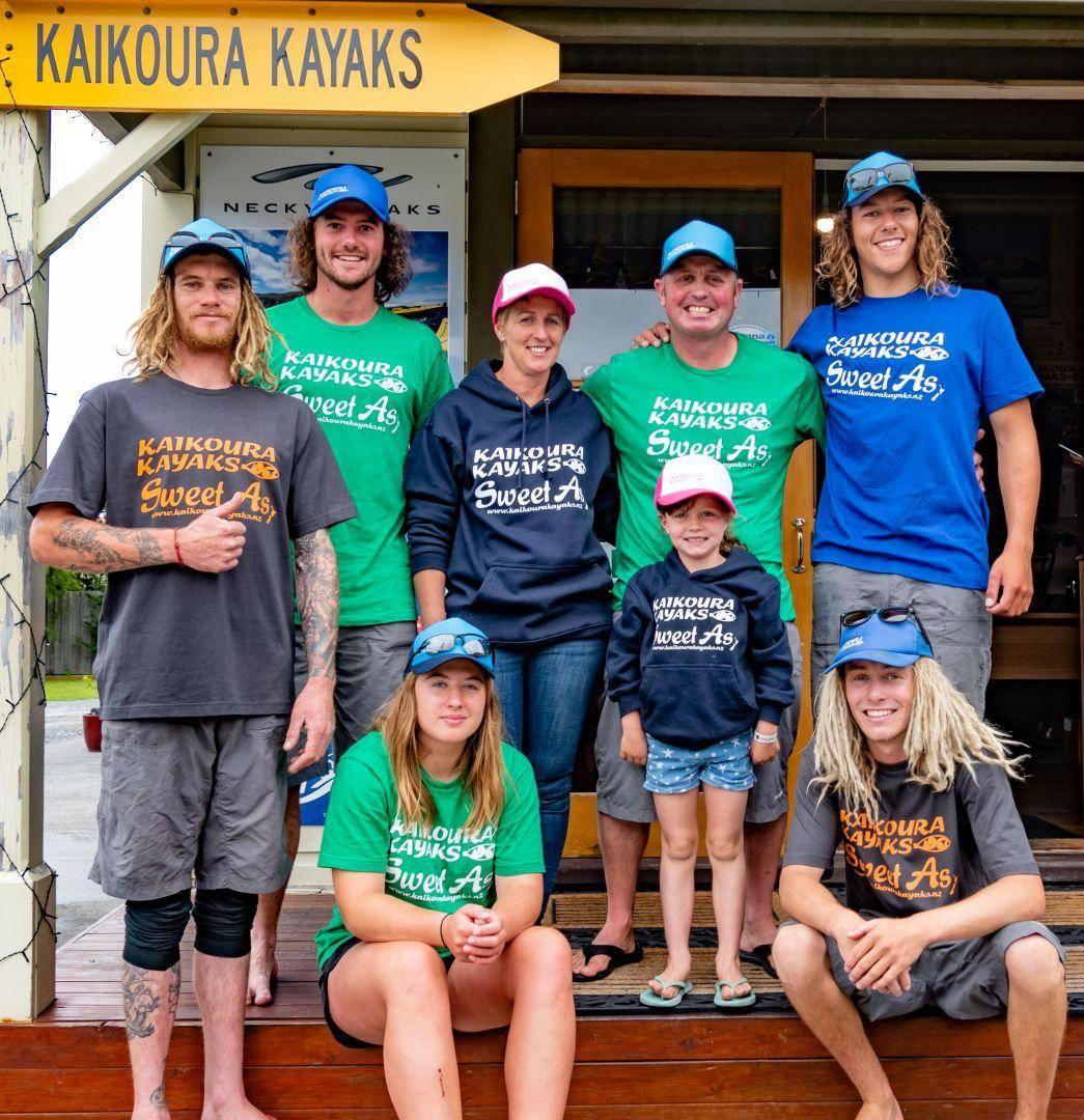 Kaikoura Kayaks Team