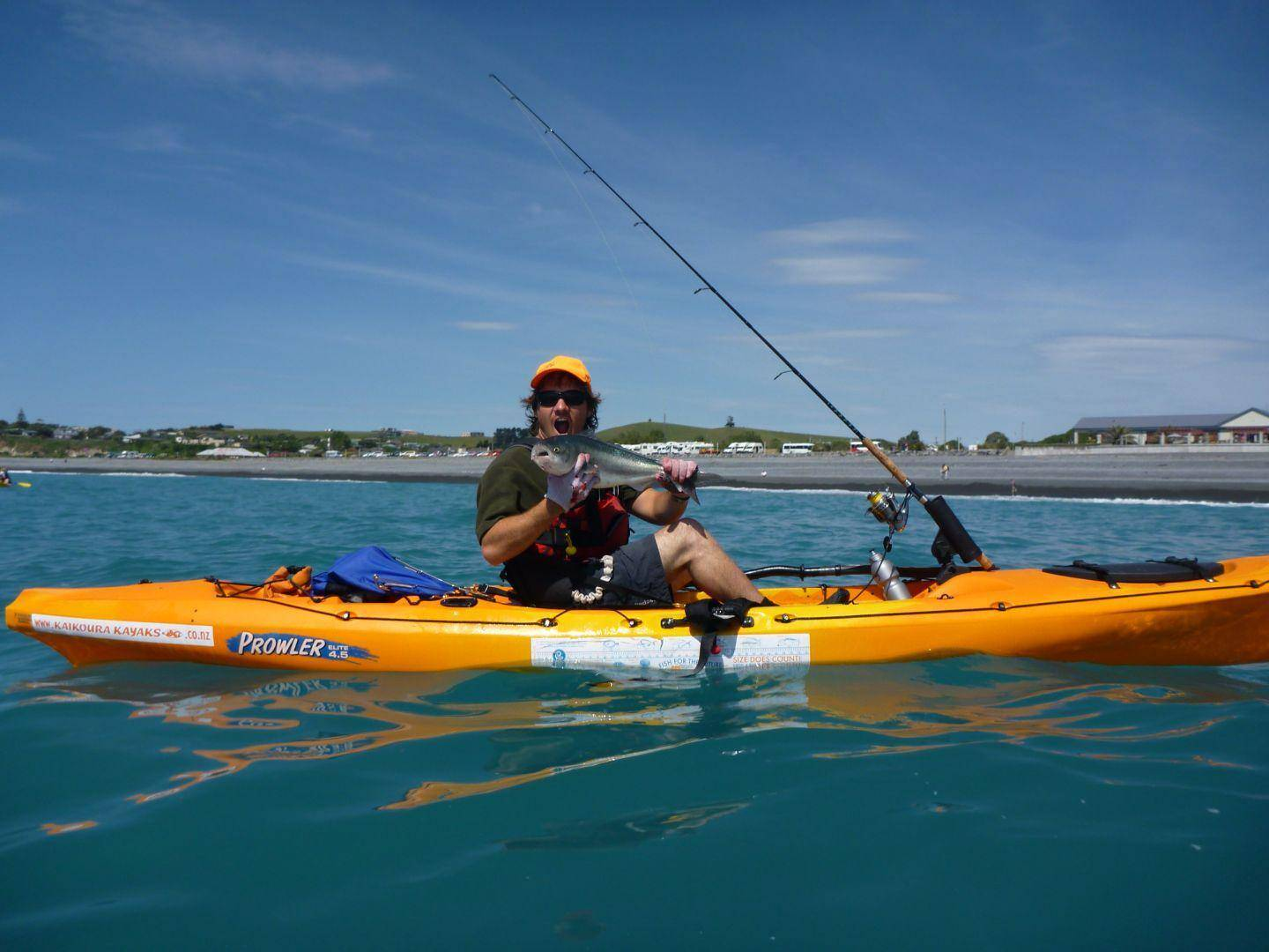 Kaikoura Kayaks Fishing