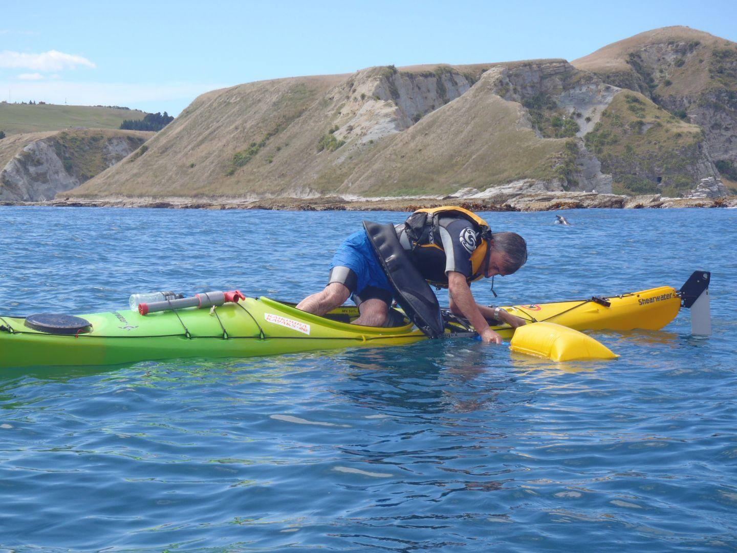 Self rescue Kaikoura Kayaks