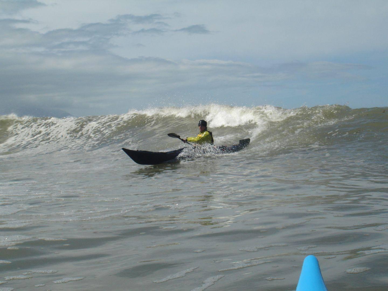 Kayak Surfing Kaikoura