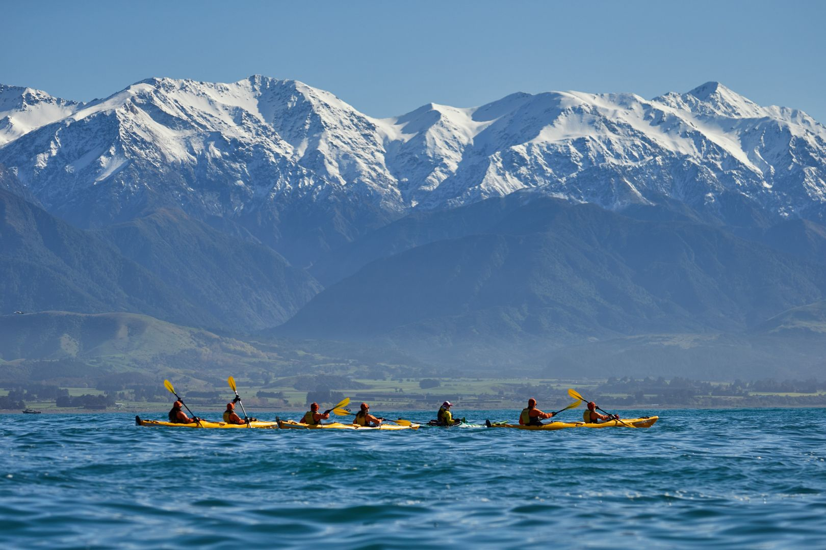 Winter Kayaking Kaikoura