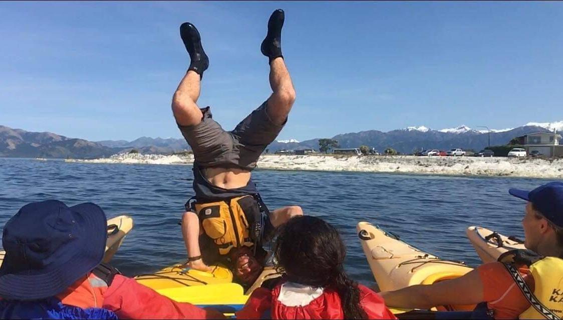 School Group Kayaking Kaikoura