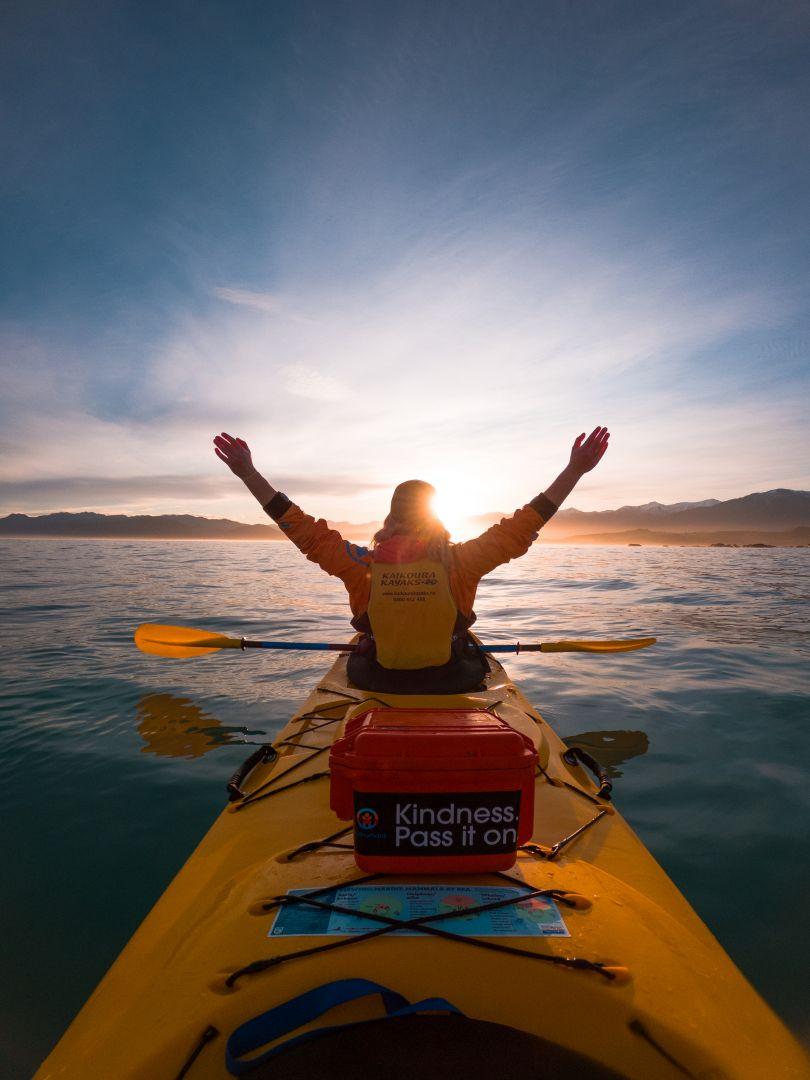 Sunset Kayaking Kaikoura
