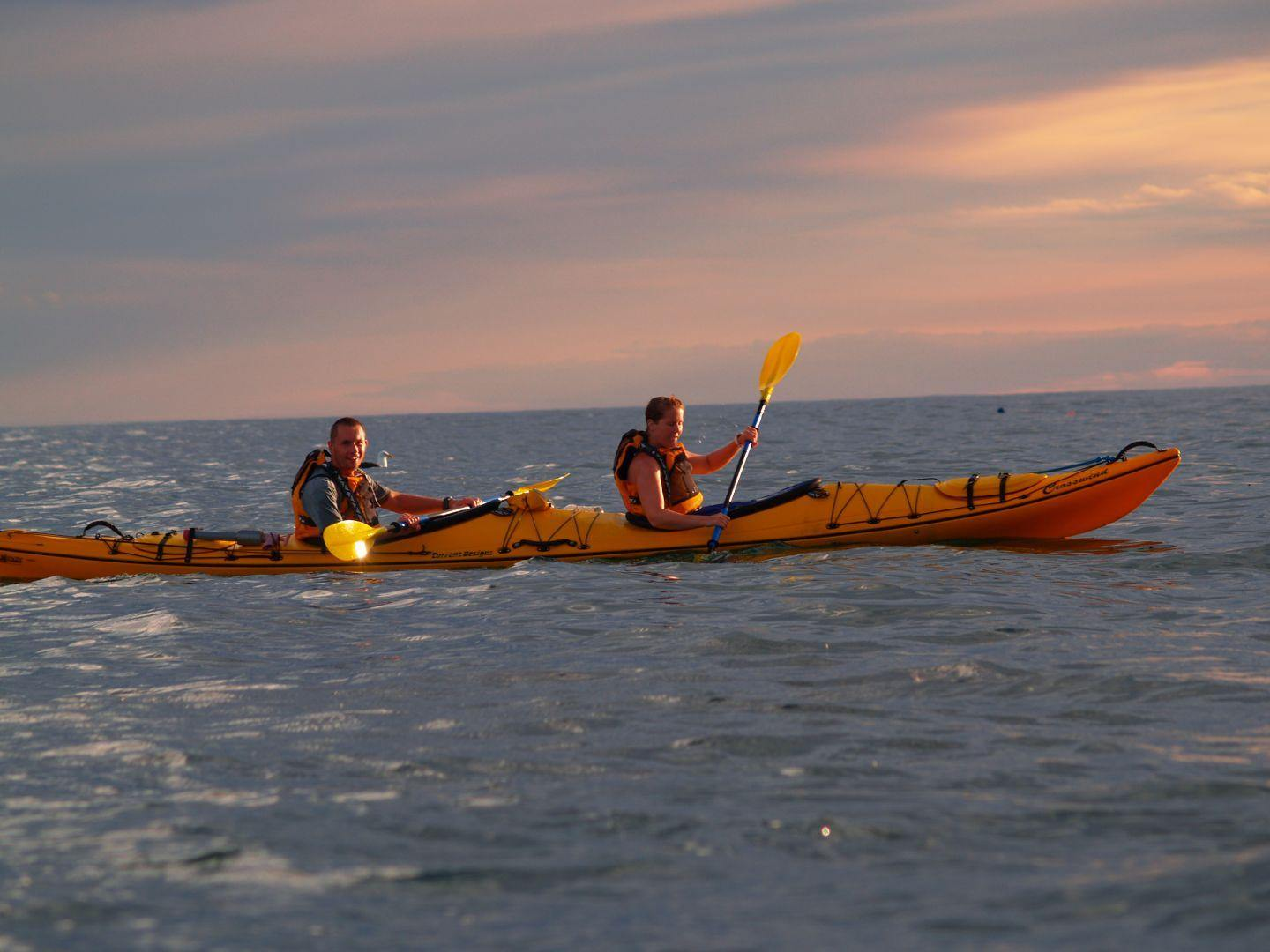 Sunset Kayaking Kaikoura